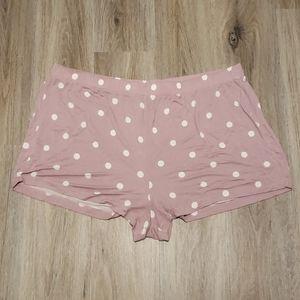 Torrid Pink polka dot shorts. Like new.